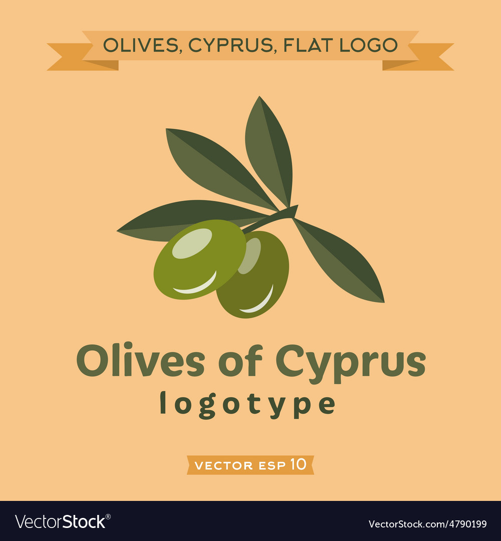 Olives of cyprus logo vector   Price: 1 Credit (USD $1)