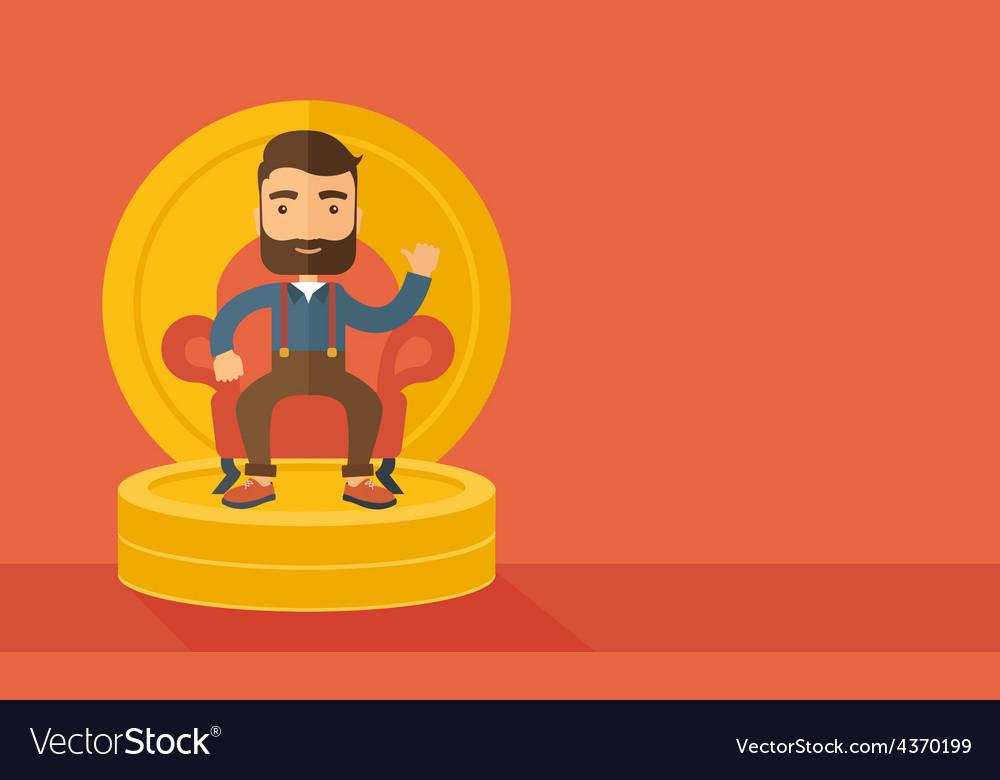 Successful businessman vector | Price: 1 Credit (USD $1)