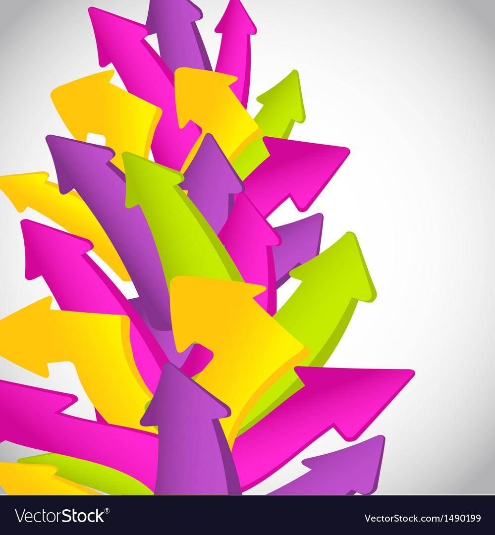 Vintage arrows set for your design vector | Price: 1 Credit (USD $1)
