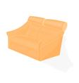 Beige-velvet-chair vector