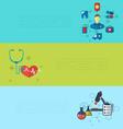 Concept of medical diagnostics hospital clinic vector