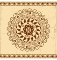Beautiful mexican ethnic ornament vector