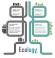 Ecology elements vector