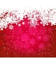 Beautiful red happy christmas card eps 8 vector