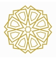 Islamic or arabic shape vector