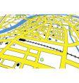 Street map vector