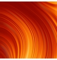 Abstract glow twist background with golden flow vector