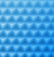 Abstract shape blue background made with isometric vector
