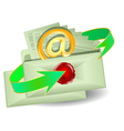 Envelopes with an email vector