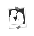 Lovers background vector