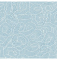 Seamless tangled pattern in light blue color vector