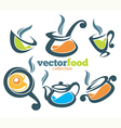 Common food collection vector