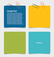 Collection of various papers paper designs ready vector