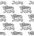 Great heraldic lion seamless vector