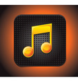 Music app icon vector