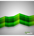 Green stripes vector