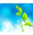 Fresh nature background vector