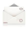 Envelope confidential vector