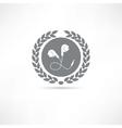 Earphone icon vector