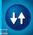 Two arrow up sign vector