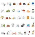 Web page icons set vector