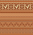Slavic ornament seamless vector