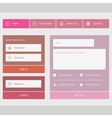 New web forms components vector