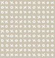Funny simple seamless tic-tac-toe pattern vector