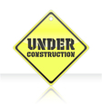 Under construction icon vector