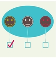 Emotional smiles vector
