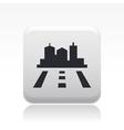 Road city icon vector