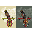 Decorative birds vector