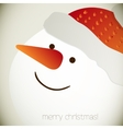 Snowman for christmas design vector