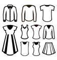 Men and women clothes vector