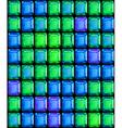 Mosaic gem background vector
