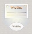 Pattern for wedding invitation vector