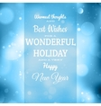 Christmas retro blurred background eps 10 vector