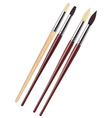 Painting brushes vector
