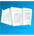 Speech template vector