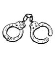 Handcuffs vector