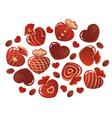 Chocolates vector