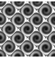 Design seamless spiral movement geometric pattern vector