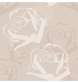 Abstract roses pattern vector