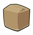Paper box cartoon vector