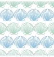 Abstract seashels stripes seamless pattern vector
