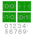 Football scores vector