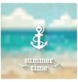 Anchor marine blurred background vector