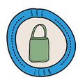 Bag design vector