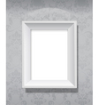 Picture frame hanging vector