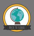 Backto school design vector